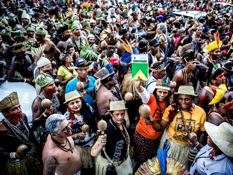 Brazilské domorodé hnutí se připravuje k obraně